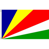 Seychelles National Flag - Budget 5 x 3 feet