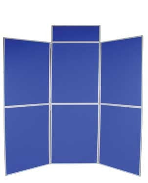 Folding Panel Exhibition Kit - 6 Panel Banners - United Flags And Flagstaffs