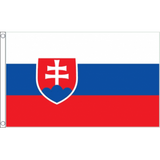 Slovakia National Flag - Budget 5 x 3 feet