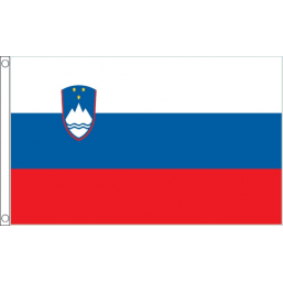 Slovenia National Flag - Budget 5 x 3 feet Flags - United Flags And Flagstaffs