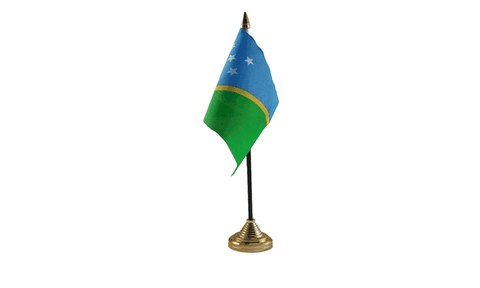 Solomon Islands Table Flag