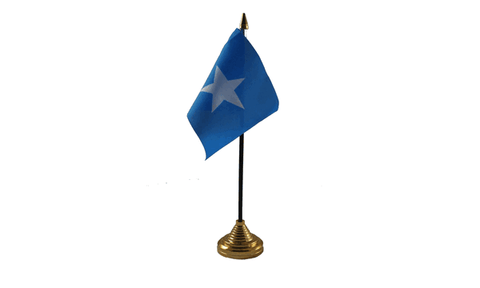 Somalia Table Flag Flags - United Flags And Flagstaffs
