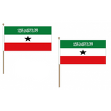 Somaliland Fabric National Hand Waving Flag Flags - United Flags And Flagstaffs