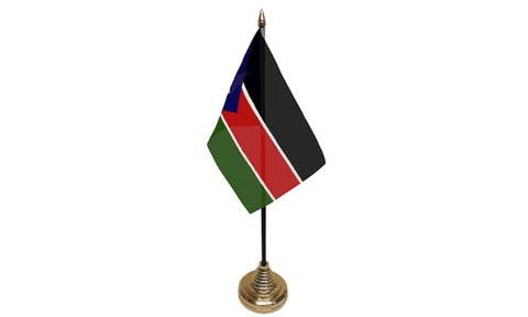 South Sudan Table Flag