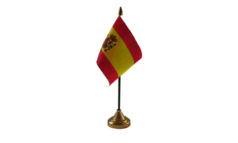 Spain (State) Table Flag