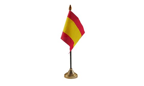 Spain (Civil) Table Flag
