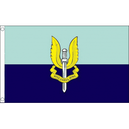 SAS Blue Flag - British Military