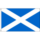 Scotland National Flag - Budget 5 x 3 feet Flags - United Flags And Flagstaffs