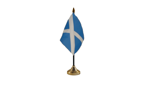 St Andrew (Light Blue) Table Flag Flags - United Flags And Flagstaffs