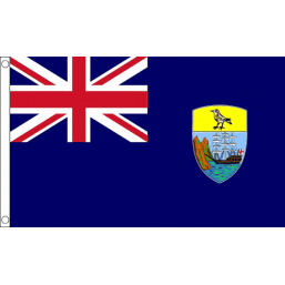 St Helena National Flag - Budget 5 x 3 feet Flags - United Flags And Flagstaffs
