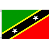 St Kitts and Nevis National Flag - Budget 5 x 3 feet