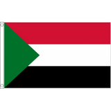 Sudan National Flag - Budget 5 x 3 feet