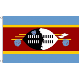 eSwatini (Swaziland) National Flag - Budget 5 x 3 feet Flags - United Flags And Flagstaffs