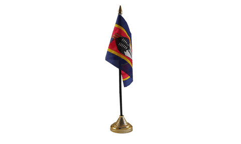 Swaziland Table Flag