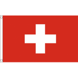 Switzerland National Flag - Budget 5 x 3 feet Flags - United Flags And Flagstaffs