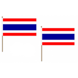 Thailand Fabric National Hand Waving Flag
