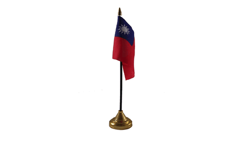 Taiwan Table Flag Flags - United Flags And Flagstaffs