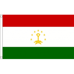 Tajikistan National Flag - Budget 5 x 3 feet