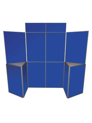 Folding Panel Exhibition Kit - 10 Panel