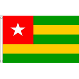 Togo National Flag - Budget 5 x 3 feet