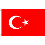 Turkey National Flag - Budget 5 x 3 feet Flags - United Flags And Flagstaffs