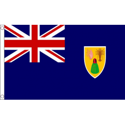 Turks and Caicos Islands National Flag - Budget 5 x 3 feet Flags - United Flags And Flagstaffs