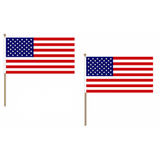 United States of America Fabric National Hand Waving Flag