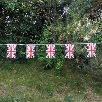 Plastic Union Flag Bunting Flags - United Flags And Flagstaffs