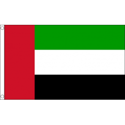 United Arab Emirates National Flag - Budget 5 x 3 feet Flags - United Flags And Flagstaffs