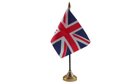 United Kingdom Table Flag Flags - United Flags And Flagstaffs