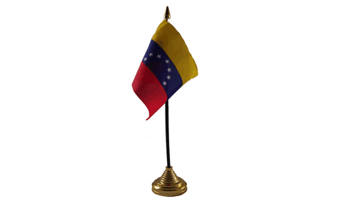 Venezuela Table Flag Flags - United Flags And Flagstaffs