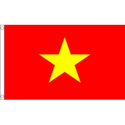 Vietnam National Flag - Budget 5 x 3 feet Flags - United Flags And Flagstaffs