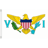 United States Virgin Islands National Flag - Budget 5 x 3 feet Flags - United Flags And Flagstaffs