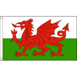 Six Nations Wales Flag -  5 x 3 feet Flags - United Flags And Flagstaffs