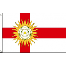 West Yorkshire - British Counties & Regional Flags Flags - United Flags And Flagstaffs