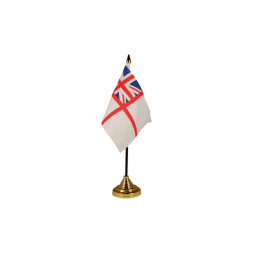 White Ensign - Military Table Flags Flags - United Flags And Flagstaffs