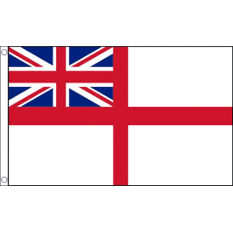 White Ensign Flag - British Military Flags - United Flags And Flagstaffs