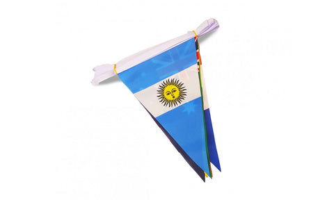 World Cup Bunting 2018 - Triangular Flags - United Flags And Flagstaffs