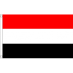 Yemen National Flag - Budget 5 x 3 feet
