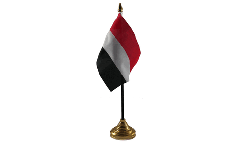 Yemen Table Flag Flags - United Flags And Flagstaffs