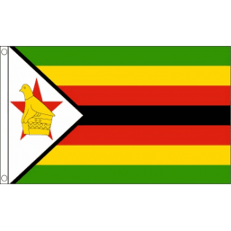 Zimbabwe National Flag - Budget 5 x 3 feet