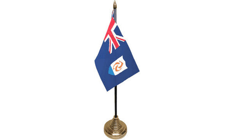 Anguilla Table Flag Flags - United Flags And Flagstaffs