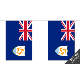 Anguilla Flag  - Fabric Bunting Flags - United Flags And Flagstaffs