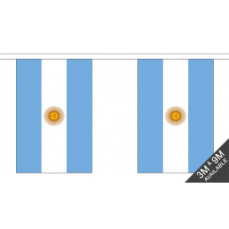 Argentina Flag  - Fabric Bunting Flags - United Flags And Flagstaffs