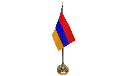 Armenia Table Flag Flags - United Flags And Flagstaffs