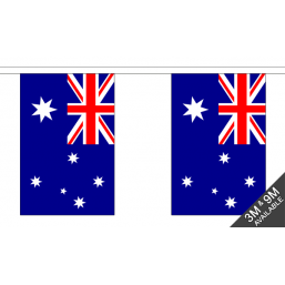 Australia Flag  - Fabric Bunting Flags - United Flags And Flagstaffs