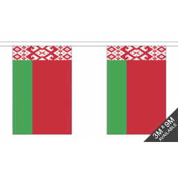 Belarus Flag - Fabric Bunting Flags - United Flags And Flagstaffs