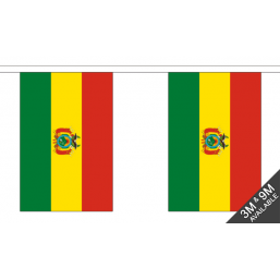 Bolivia Flag - Fabric Bunting Flags - United Flags And Flagstaffs