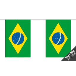 Brazil Flag - Fabric Bunting Flags - United Flags And Flagstaffs