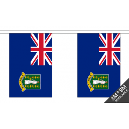 British Virgin Islands Flag - Fabric Bunting Flags - United Flags And Flagstaffs